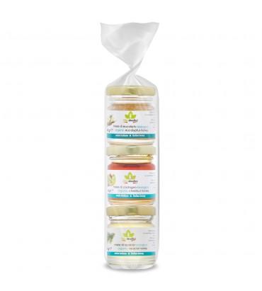 Tris di miele - acacia, eucalipto, castagno