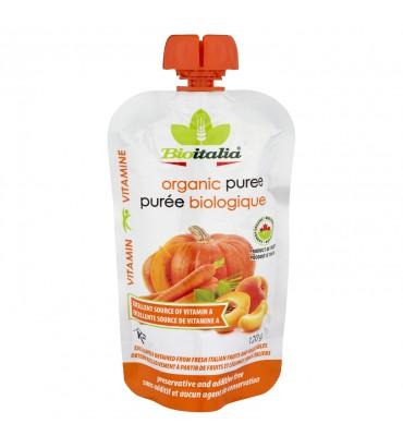 Frullato carota, zucca e albicocca