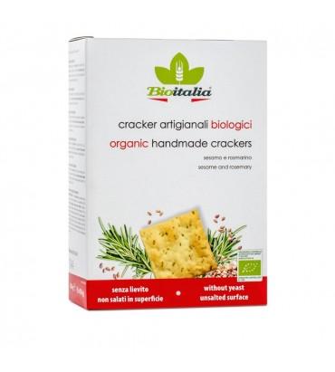 Cracker al sesamo e rosmarino