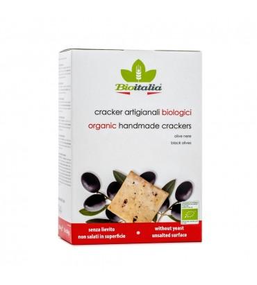 Cracker alle olive nere
