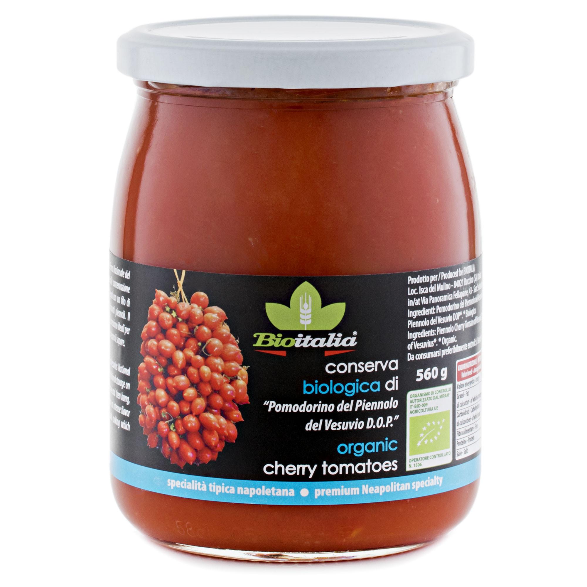 Piennolo cherry tomatoes of Vesuvius PDO - BioItalia